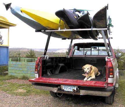 kayak diy truck rack - Google Search
