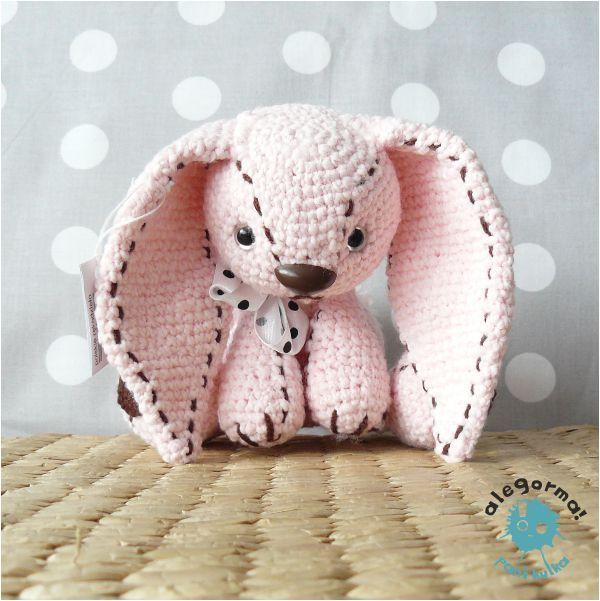Aleksandra Goryniak-Maziarka alegorma! królik, szydełko www.polandhandmade.pl  #polandhandmade #zabawkarstwo #amigurumi