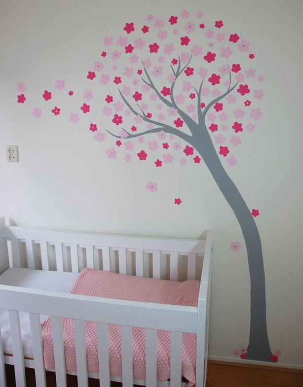 25 beste idee n over meisjeskamer ontwerp op pinterest tiener slaapkamer kleuren meisjes - Ontwerp muurschildering ...
