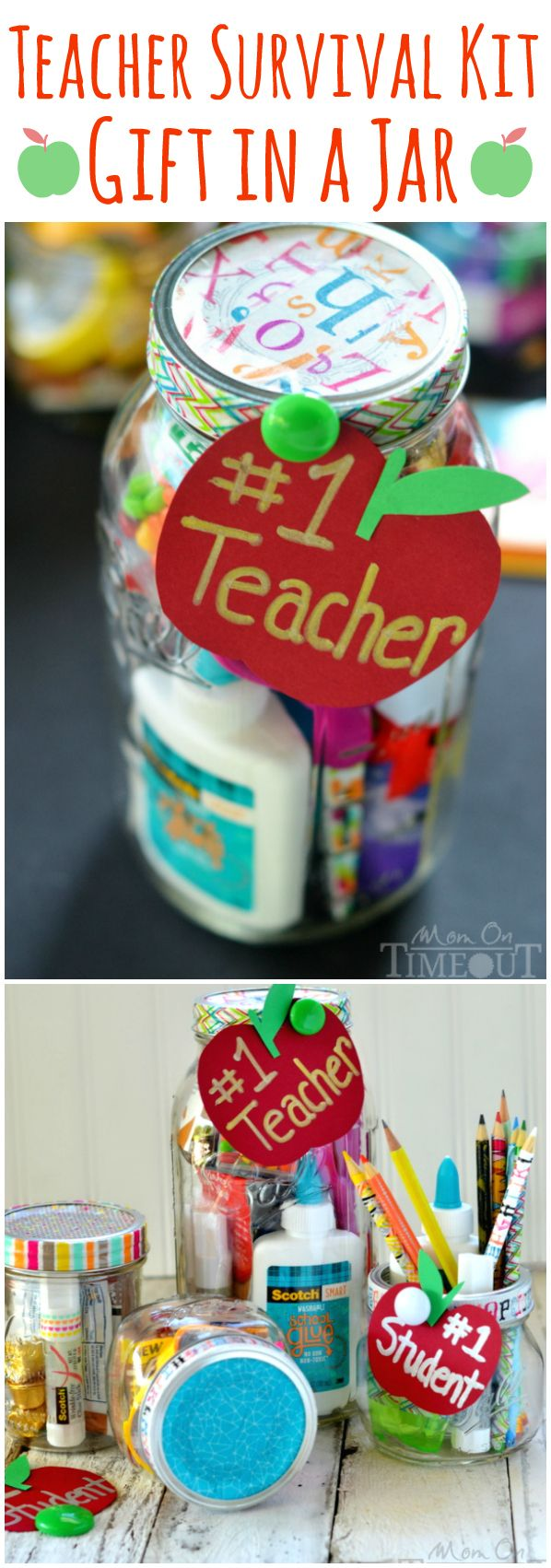 Teacher Survival Kit Gift Idea - perfect for back to school or Teacher Appreciation ...
