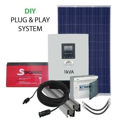 1kVA 12V PV Power Pack