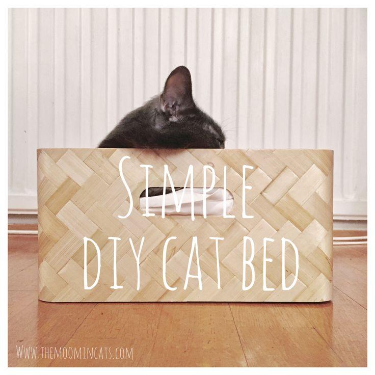 Simple DIY cat bed from IKEA – The Moomincats Blog