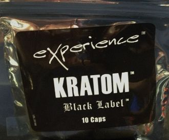Experience Botanicals - Black Label Kratom Capsules (10 count),  Price: $29.95 #HeadedWest  #theheadedwest.com
