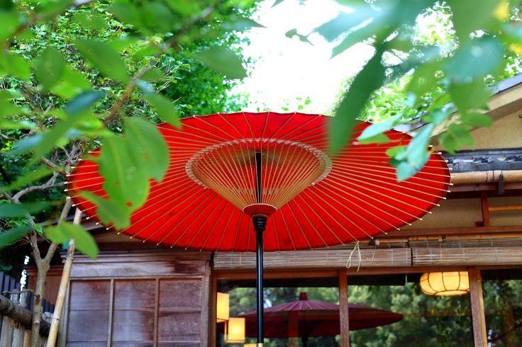 日本の風景 赤