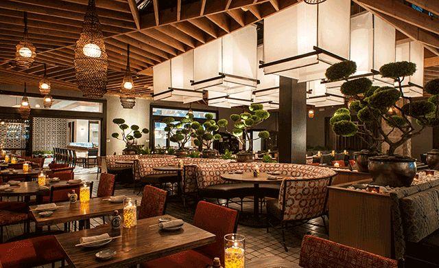 Bamboo Asian Restaurant Menu On Norwegian