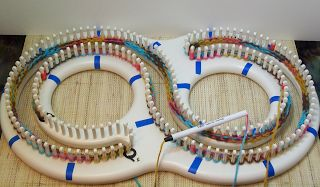 Loom Afghans And Tips And Tricks On Pinterest