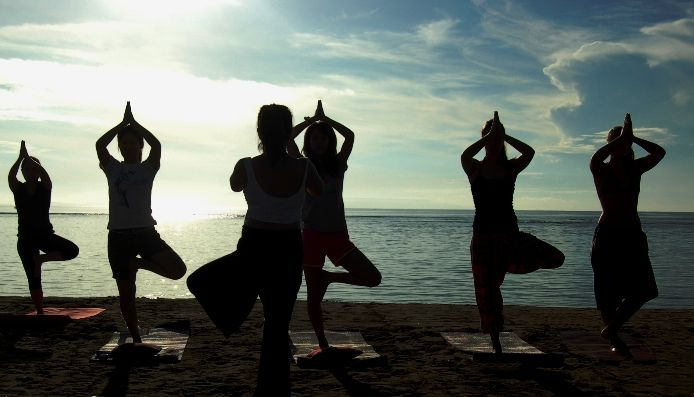 Luxury #yoga #retreat #center in #Bali. They also provide Yoga Alliance teacher training events to give you all the knowledge about how #yoga works and the various asanas.