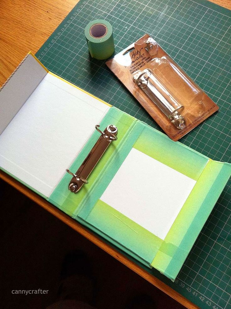 Step by Step Part 1 How to make the mini album from a project life kit.