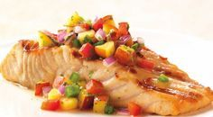 SALMON FILLETS with Corn Salsa Weber Grill Recipe