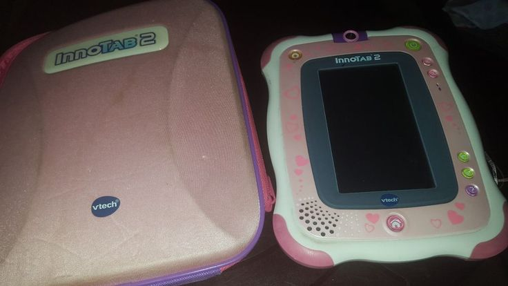 Innotab 2 Pink Vtech Learning kids tablet with game and case dora game #VTech