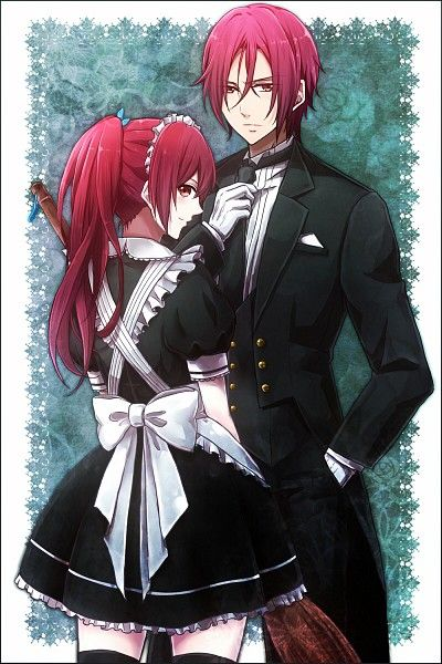 "Free! ~~~ Cosplaying ""Black Butler"" characters ::: Matsuoka Gou & Matsuoka Rin"