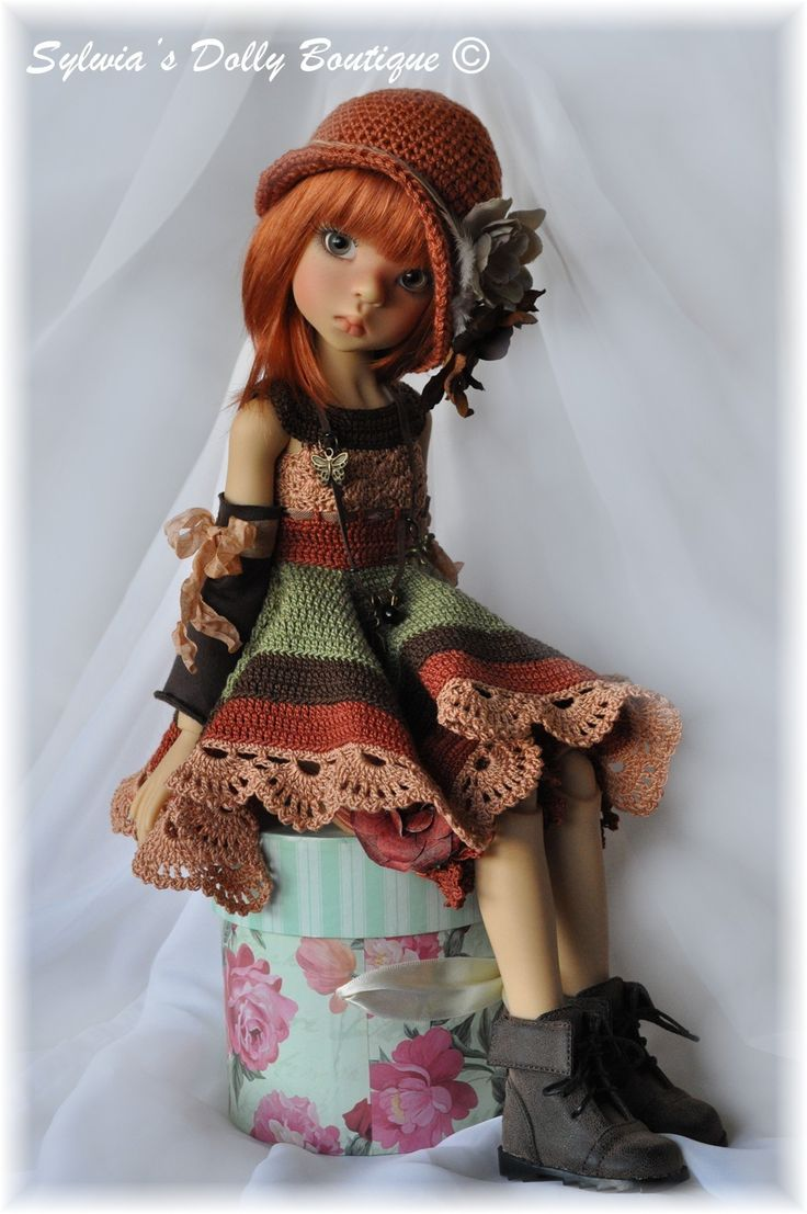 Fall Autumn 5pc Outfit Dress Set for Kaye Wiggs Layla Hope MSD BJD by Sylwia | eBay