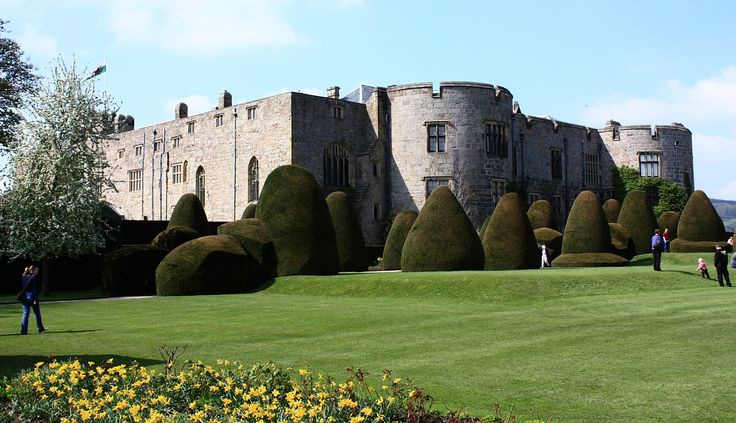 Chirk Castle, Wales, UK. Chirk Castle, occupied virtually continuously as a castle and stately home for almost 700 years, sits on a hilltop with its best views over the Ceiriog valley to the south. The successor to two known mottes in the area, it was probably built by Roger Mortimer, of the powerful Marcher family, who was granted the area by Edward I after the Welsh defeat in 1282. He was almost certainly given royal assistance in its design and construction, and its similarities to…
