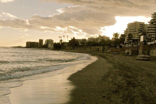 seaside. Malaga. Spain