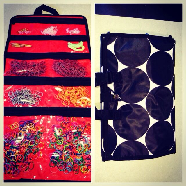 @Angela Gray Faranda-One Gifts Uptown Jewelry Bag used to organize loom bands. #thirtyone #organization https://www.mythirtyone.com/kaydeeperkins