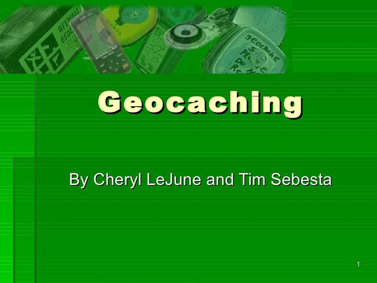 Geocaching by LSC-CyFair Academy for Lifelong Learning via slideshare