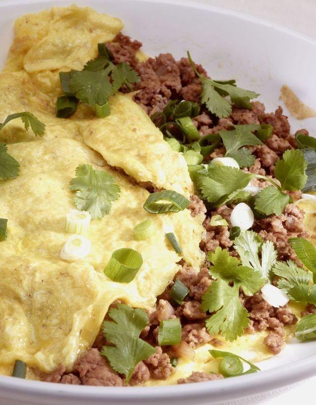 Thaise omelet