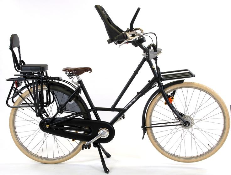 velo cadre rallonge siege enfant hollandais moeder or bicycle bike stuff