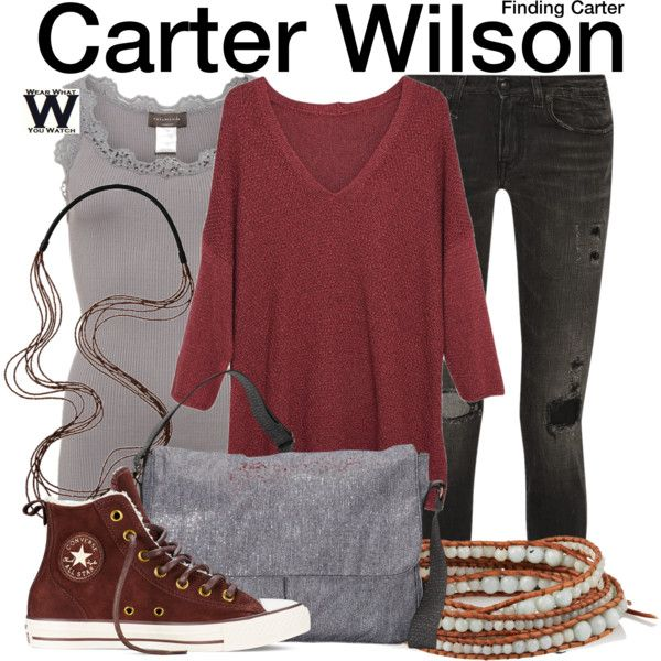 Inspired by Kathryn Prescott as Carter Wilson on Finding Carter.