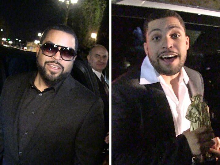 'Straight Outta Compton' -- Big Winner at 'Black Oscars' (VIDEO)