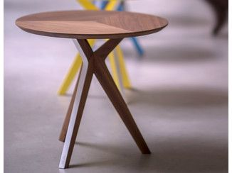 Round wooden side table PINKIT | Side table - Two Six