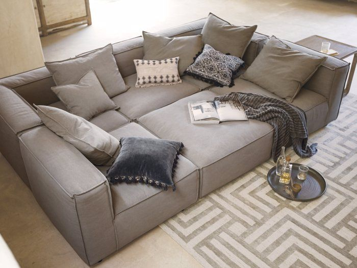 Sectional Sofas Couches Leather Sectional Sofas Arhaus In
