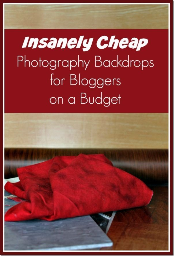 5 Insanely Cheap Photography Backdrops for Bloggers on a Budget