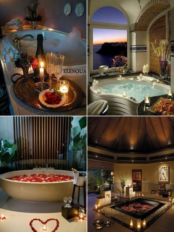 Romantic bathroom decorating ideas for valentine s day for Bathroom romance photos