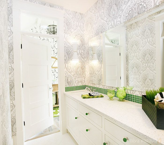 Green And Black Bathroom Ideas: 51 Best Bathrooms Deserve Design, Too! Images On Pinterest