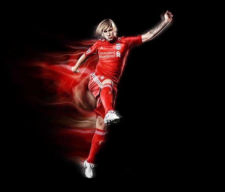 Fernando Torres- Liverpool Football Club #Photography #SportsPhotography #SimonDervillerPhotography #LiverpoolFootballClub #Sports #Football #Adidas