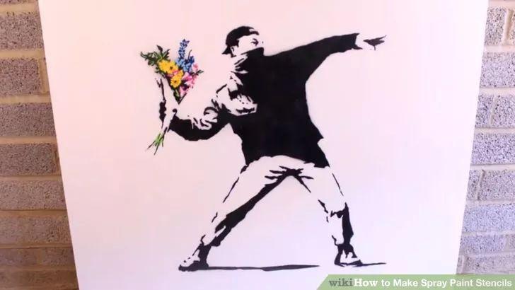 Image titled Make Spray Paint Stencils Step 1