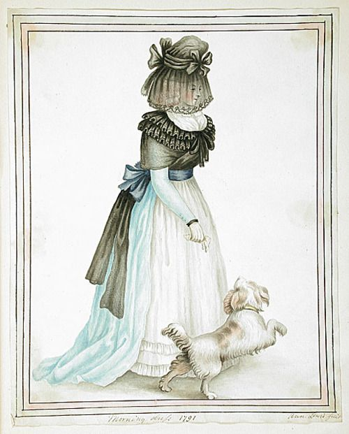Morning Dress, 1791, by Ann Frankland Lewis.