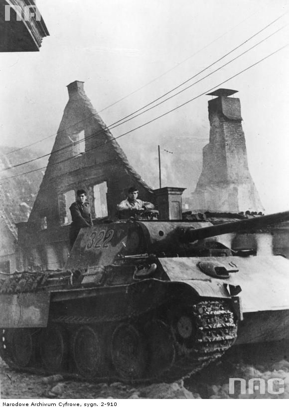 "PzKpfw V ""Panther"", Gołdapii (I believe eastern front) 1944"