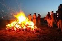 In Hinduism, when a person dies the body is burnt. This is done to rid the departed soul of any attachments to the body it previously resided in.
