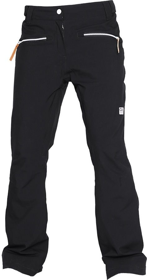 CLWR Colour Wear Cork Women's Ski/Snowboard Pants, S, Black