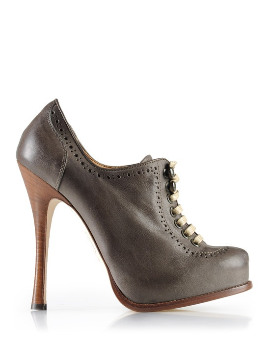 DSquared2 Laced shoe  Description:  Laser cut, Leather sole    Composition:  Calf-skin leather  Made In Italy  $725 ON SALE for $363