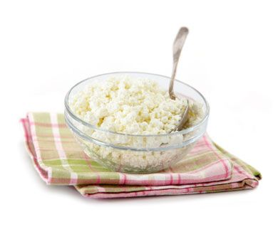 Lowfat Cottage Cheese Cheese isn't always off limits! Lowfat cottage cheese is full of protein, and also promotes hair health (since hair is mostly protein). Just be wary of high sodium levels when incorporating this into your diet.