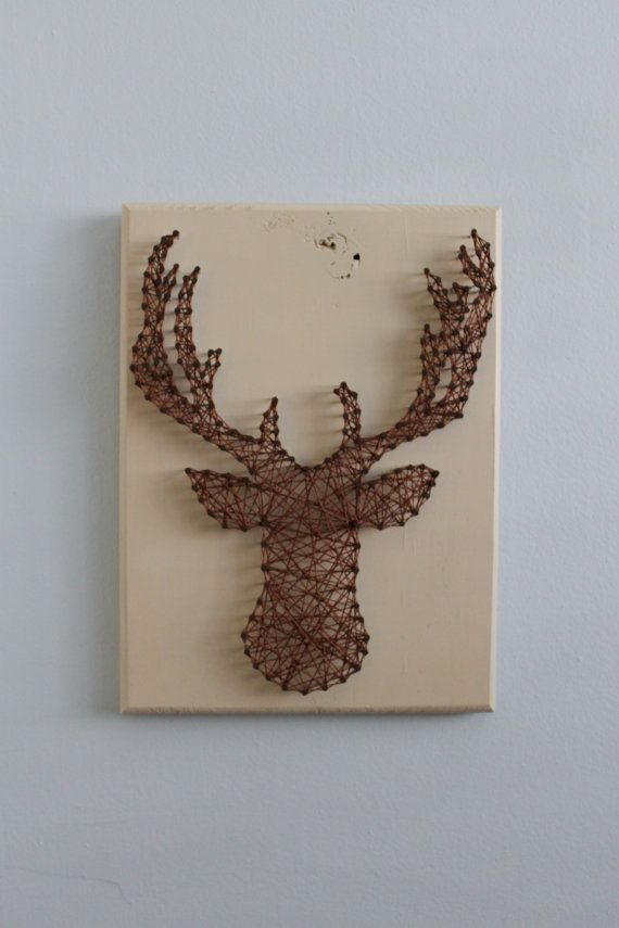Hey, I found this really awesome Etsy listing at https://www.etsy.com/listing/180208739/custom-buck-deer-silhouette-string-art