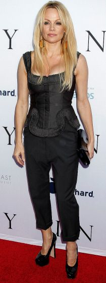 """Pamela Anderson attends the Los Angeles premiere of """"Unity."""""""