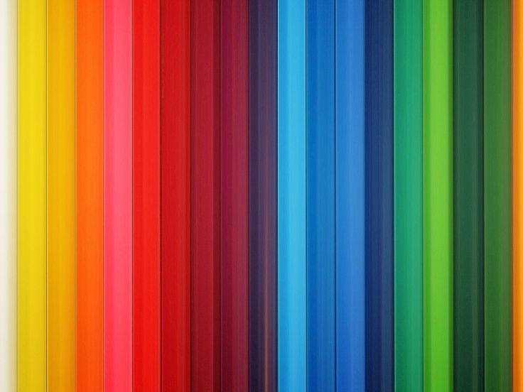 1024x768 Wallpaper colorful, stripes, rainbow, vertical
