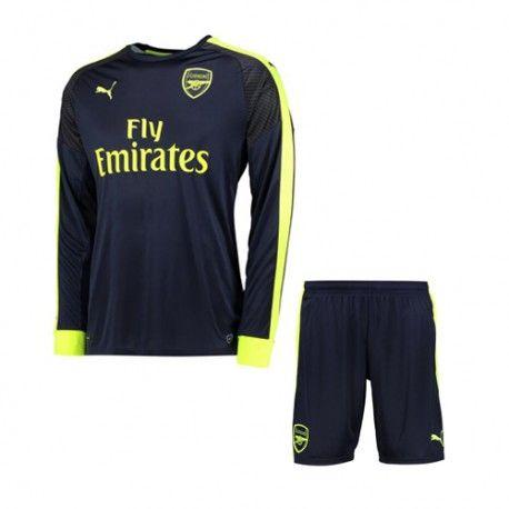 £19.99 Arsenal Kids Third Kit Long Sleeve 2016 2017