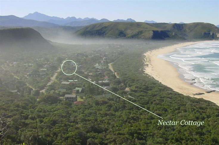 Nectar Cottage - Nectar Cottage is a fully-equipped self-catering house situated in the only village that lies inside a South African National Park.  Surrounded by forest, lagoon and only a 100 paces from the spectacular ... #weekendgetaways #naturesvalley #southafrica