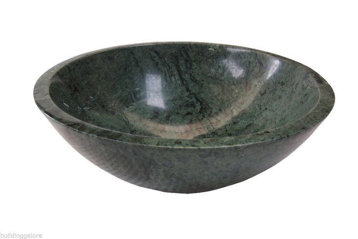Solid Stone Marble Basin 014 -Made to Order - Polished Stone Counter Top Vanity | eBay
