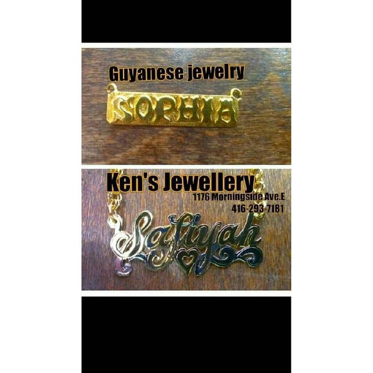 Ken's Jewellery  Morningside Ave. East Scarborough  416-293-7181  Some before and after  Available in yellow  white &  silver  #scarborough #jewellery #custom #custommade #guyanese #trinidad #island #tdot #toronto #ladies #diamond #rings #blingbling #whitegold #yellowgold #10k #pendant #12k #nameplate #luckygirl #happy #likeforlike #like4like  #followme #followforfollow #follow4follow #lasercut #custommade #weddingband by kenjewellery01