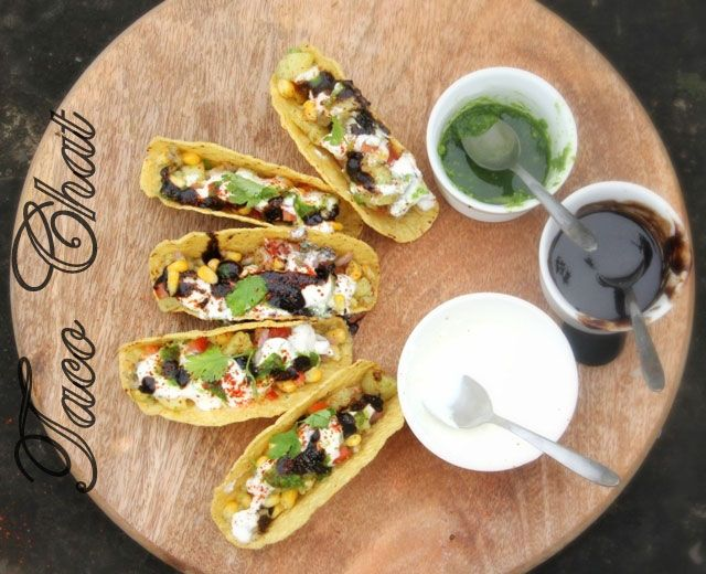 195 best indian party snackscanopes images on pinterest cooking quintessential indian street food the chaat gets a modern makeover in this taco chaat recipe read on for a recipe with pics forumfinder Choice Image