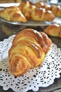 Présentation du croissant maison pur beurre recette facile - Kaderick en Kuizinn©2012