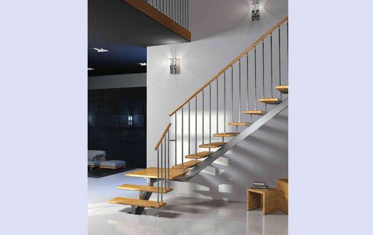 Oltre 25 fantastiche idee su scale metalliche su pinterest - Scale a giorno moderne ...