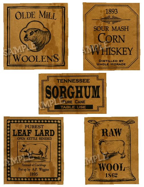 Pantry Labels 1