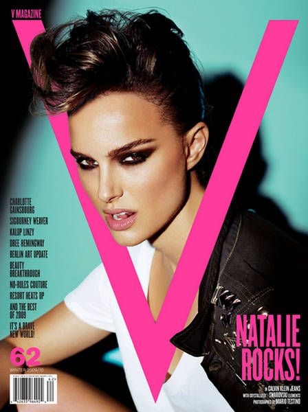 The Portman looking incredible on one of my all time fave mag covers.