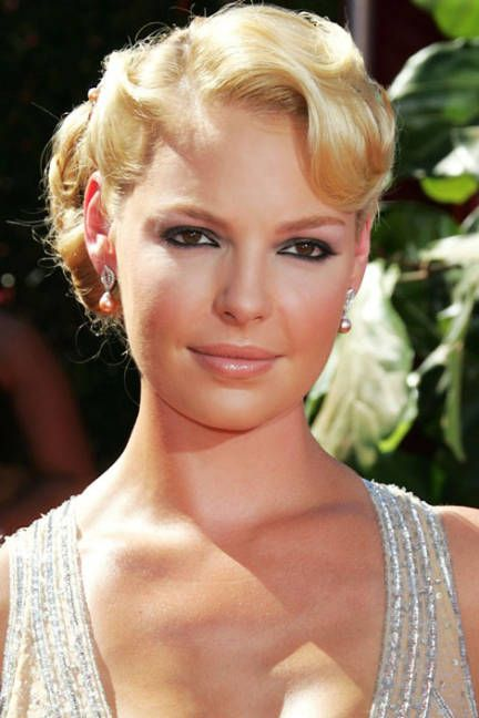 Katherine Heigl's Top 10 Beauty Looks | Updo, Katherine ...